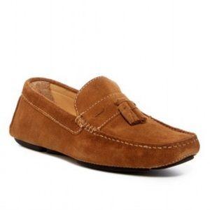 NEW Donald J Pliner Suede Driver Loafer Shoes
